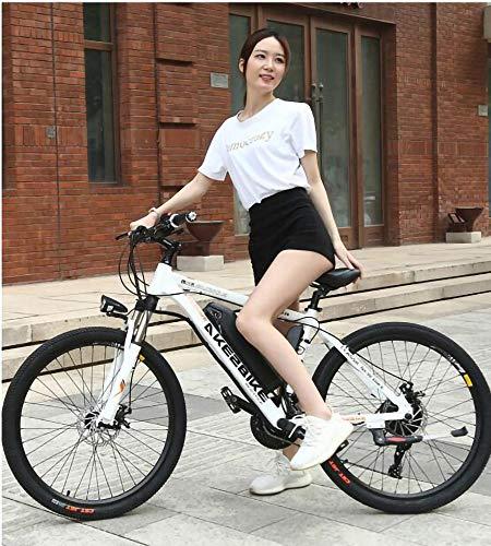 MRMRMNR Bicis Electricas Mujer Neumáticos De 26 Pulgadas Bicicleta Moma Bicicleta Adulto...