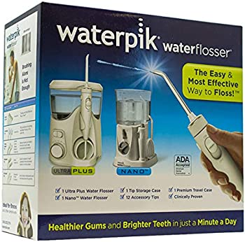 Waterpik Ultra Plus and Nano Water Flosser Combo Pack
