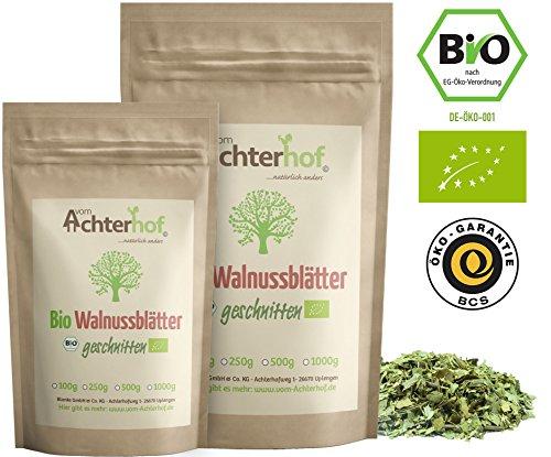 Walnussblätter Bio (500g) Walnussblättertee aus kontrolliert biologischen Anbau vom Achterhof