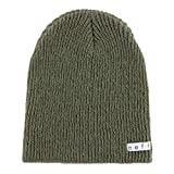 NEFF Men's Daily Beanie Hat for Winter, Olive Heather, One Size