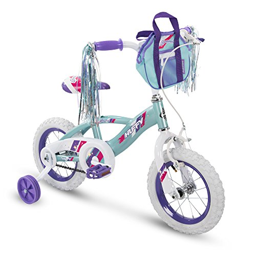 "powerful Huffy Glimmer 12 ""Girls Bike, Sea Crystal"
