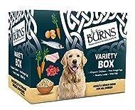 Burns Pet Natural Nutrition Adult & Senior Wet Dog Food Variety Box Chicken, Egg, Lamb & Fish 6 x 39...