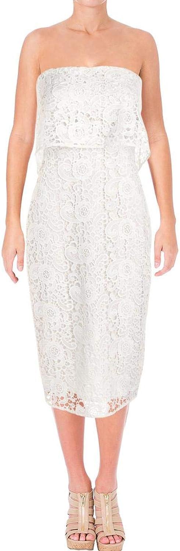 Likely Womens Mini Lace Overlay SemiFormal Dress