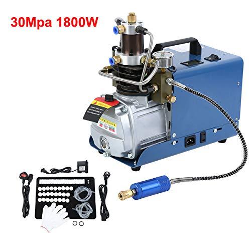 Yonntech - Bomba de aire comprimido de alta presión, 300 bares, 30 MPA, 4500 PSI, sistema de alta presión, control automático, compresor de aire eléctrico con bomba de aire PCP