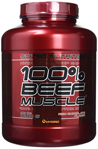 Scitec Nutrition 100% Beef Muscle Protein Powder - 3180g, Rich Chocolate