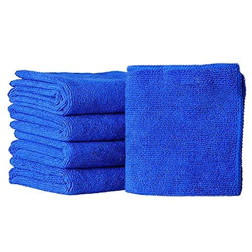 Leyue 5 PCS/Set Microfibre Limpieza Toalla de Limpieza Suave Lavado de Toalla 25 * 25 cm Coche para el hogar Limpieza de Microfibra Tela Herramientas de Limpieza de hogar