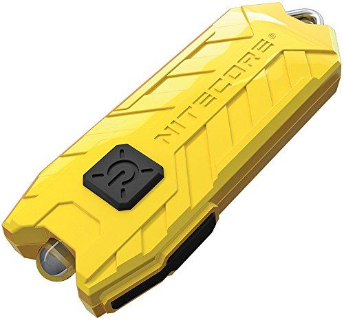 Nitecore Tube Keychain Light T Series 45 Lumen Multi Color Pocket Flashlight (Yellow)