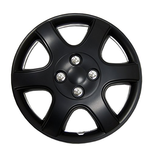 TuningPros WC-14-5888-B 14-Inches Pop On Type Improved Hubcaps Wheel...