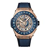 Hublot Big Bang Unico GMT King Gold Blue Ceramic 471. OL.7128.RX - Flauta Dulce
