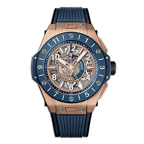 Hublot Big Bang Unico GMT King Gold Blue Ceramic 471. OL.7128.RX - Fla