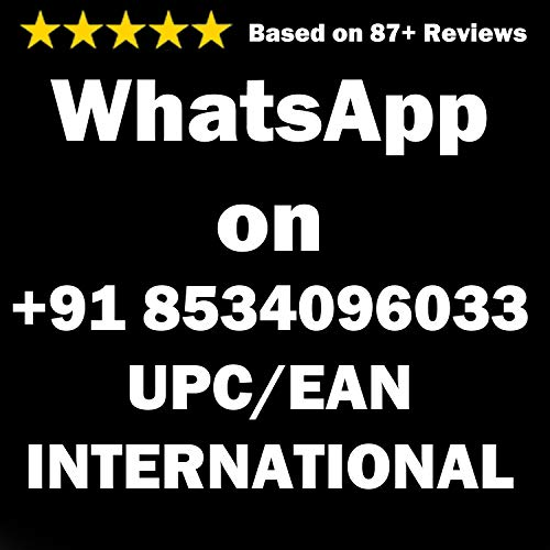 UPC EAN codes for Amazon (English Edition)