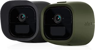 Arlo Accessory - Skins | Set of 2 – Black & Green | Compatible with Arlo Go only| (VMA4260)