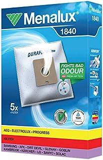 comprar comparacion Menalux 1840 - Pack de 5 bolsas sintéticas y 1 filtro para aspiradoras Nilfisk Bravo, Coupe y One, Samsung, Solac Springte...