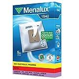 Menalux 1840 - Pack de 5 bolsas sintéticas y 1 filtro para aspiradoras Nilfisk...