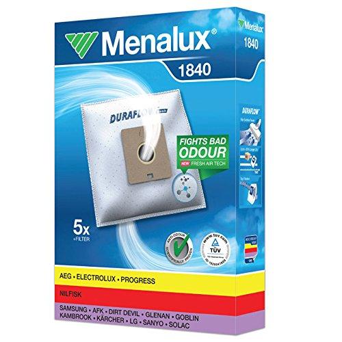 Menalux 1840 - Pack de 5 bolsas sintéticas y 1 filtro para