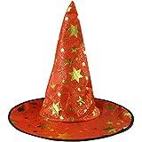 MXJEEIO 1 Piezas de Halloween Bruja Hat Magic Hat Party Juguetes Cosplay para...