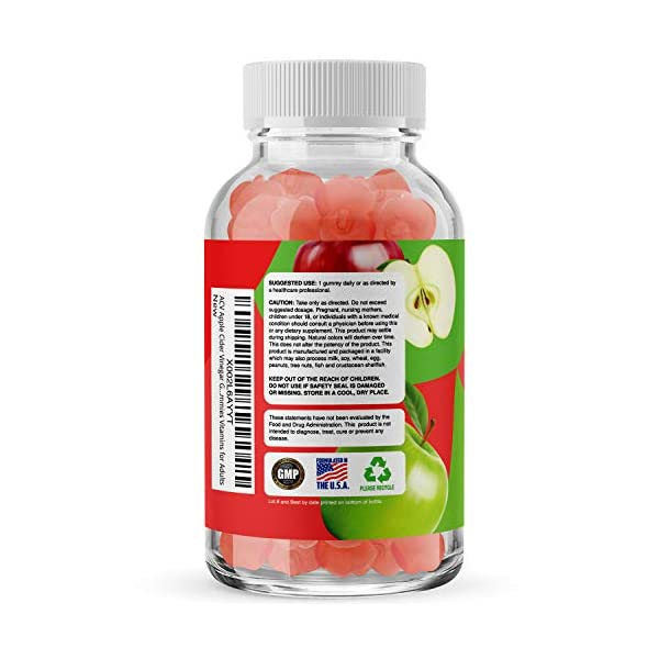 Health Shopping Apple Cider Vinegar Gummies for Weight Loss Cleanse and Detox – Natural Appetite