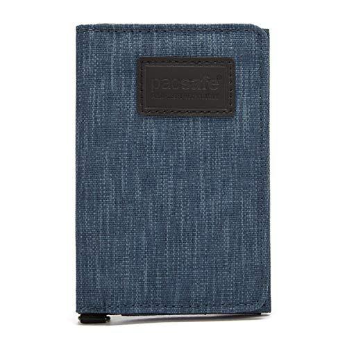 Pacsafe RFIDsafe Trifold Wallet, Dark Denim