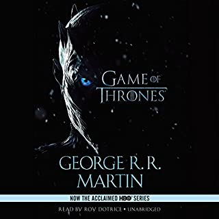 A Game of Thrones audiobook cover art