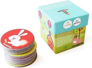 Farm Animals Memory Cards Game (3 years+) - Curiosity, creativity & fine motor