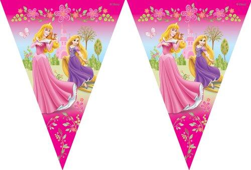 Amscan Guirlande de fanions Princesses Disney