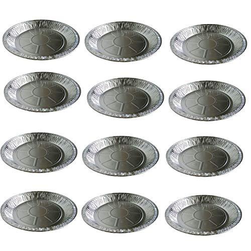 cherrypop 125 sartenes redondas desechables de papel de aluminio para cocinar, hornear, transporte de alimentos y más