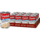 Campbell'sCondensed Cream of Mushroom with Roasted Garlic Soup, 10.5 oz. Can (Pack of 12), Multi