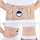 ZSZBACE Spinal Massager Physio Decompression Back Belt Air Traction Waist Brace Lumbar Support Back Massage for Back Pain Relief Pain Lower