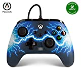 PowerA - Mando con cable mejorado para Xbox Series X|S: Arc Lightning (Xbox Series X)