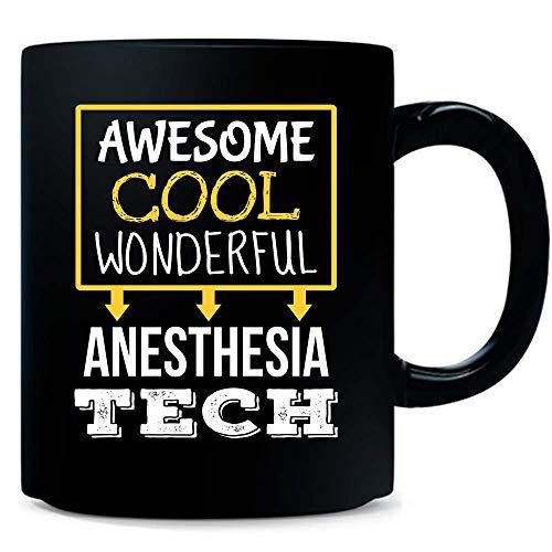 Funny Anesthesia Tech Mug Gifts - New Job Appreciation Coffee Cup Thank You Tea Mug 11oz Black