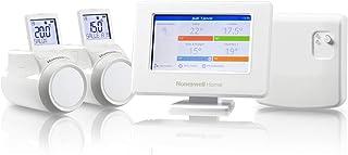 Honeywell Home THR99C3112 Evohome Wi-Fi Smart thermostaat met relaismodule, controle van de ketel en 2 draadloze thermosta...