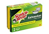 Scotch Brite Salvauñas Verde Duplo - 2 esponjas