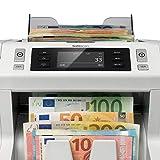 Safescan 2665-S - High-Speed Banknotenzähler mit Wertzählung für gemischte Geldscheine, mit 7-facher Falschgeldprüfungbanknote - 100%ige Sicherheit - 3