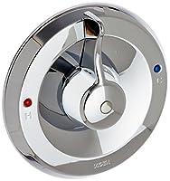 Moen T187シャトーシングルハンドルPosiTemp浴槽圧力バランスシャワーバルブトリム、クロム