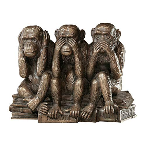 Hear-No, See-No, Speak-No Evil Monkeys Stylish Table Decor Statue