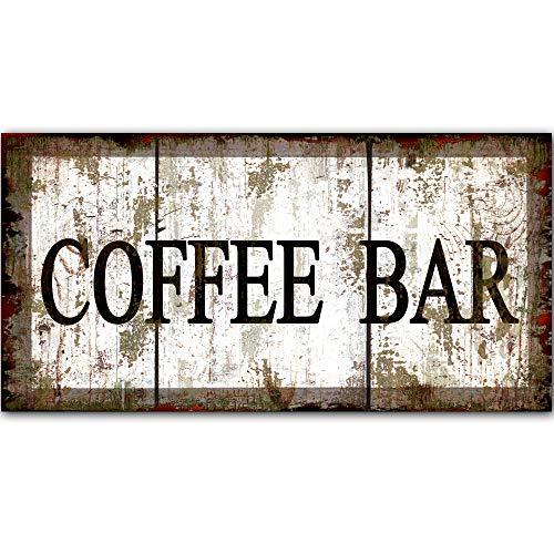Placa Metal Vintage Coffee  marca Robert Art