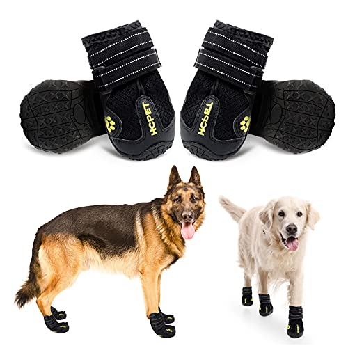 CADO SHY Dog Shoes for Large Dogs Hot Pavement, Dog Booties for Large Medium Small Dogs, Running...