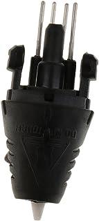balikha Vervanging 12V 3A mondstuk voor 3D-printer pen reserveonderdelen, 160° 230°, zwart