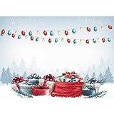 Vinilo Tema de Navidad fotografía telón de Fondo Retrato de niños Fondo de Navidad Estudio Accesorios de fotografía A11 5x3ft / 1,5x1m