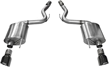 Corsa 14329BLK Axle Back Exhaust with Black Tip (Ford Mustang GT)