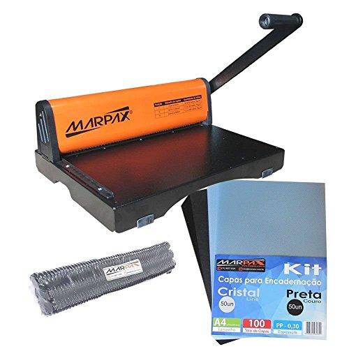 Kit Encadernadora PMX-15 + Capas + Espirais 17mm