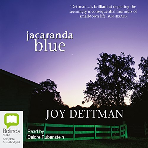 Jacaranda Blue  audiobook cover art