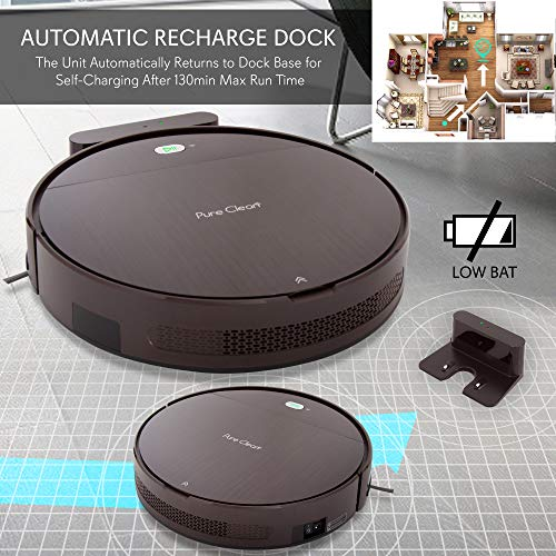 SereneLife Pure Clean Robotic Vacuum Cleaner
