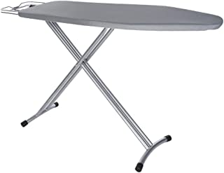 Kolo Home Ironing Board, Adjustable Height Household Essentials Steel Top 4 Leg Foldable Adjustable Board Long Ironing Board, 48x15'', Shipping from USA