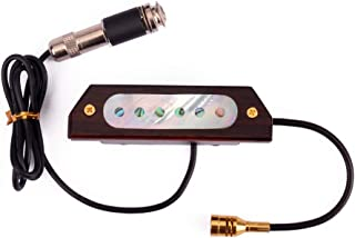 Pickup magnetic double coil sound hole pickup and...