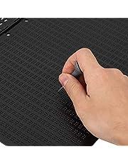 Wosune Escritura Braille portátil, tamaño Adecuado Uso prolongado Escritura Braille de plástico Conveniente, Material de Calidad Superficie Lisa Oficina para el hogar