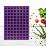 🍧The Package Includes: The package comes with an 88-hole cylindrical silicone mold; you can use this prop to bake cakes, chocolate, make jelly or make ice cream, and bring richer desserts to your family. 🍧Reliable Material & -40℃ to 230℃: The silicon...