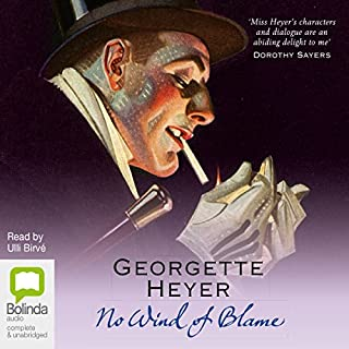 No Wind of Blame: Inspector Hemingway, Book 1                   By:                                                                                                                                 Georgette Heyer                               Narrated by:                                                                                                                                 Ulli Birvé                      Length: 10 hrs and 7 mins     111 ratings     Overall 3.7