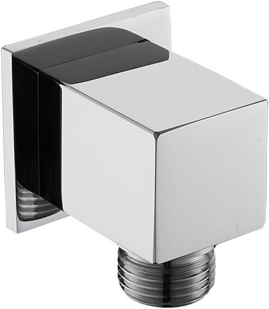 Weirun Brass Modern Daily bargain sale Fees free Bathroom Square Shower Hose N 1 Connector 2