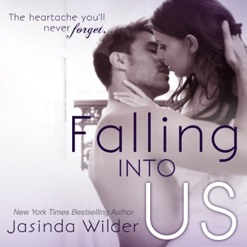Falling Into Us audiobook cover art